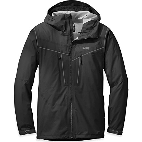Outdoor Research Men's Realm Jacket, Black, Large
