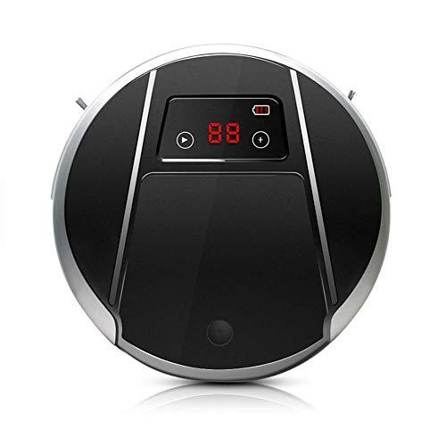 KSITH robotstofzuiger, 1000 Pa zuigvermogen, grote intelligente navigatie, automatisch laden, groot en stil