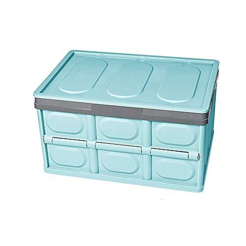 SMEJS Caja de Almacenamiento: contenedores Plegables y Organizador de Caja de Almacenamiento con Tapa, Organizador Plegable a Prueba de Fugas for el hogar, el Exterior o el jardín, (Color : B)