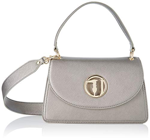 Trussardi Jeans Sophie Cross Body Md Ecoleathe, Borsa a tracolla...