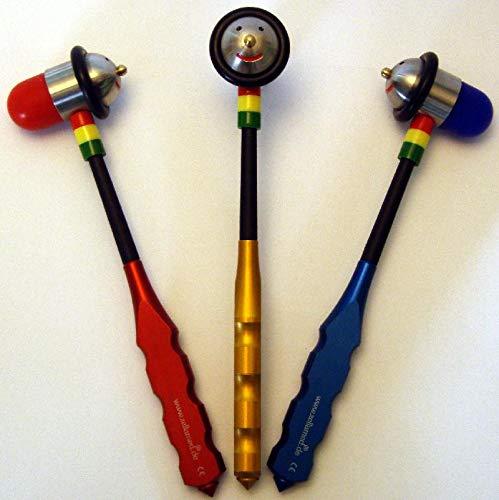 ZellaMed Colorit Reflexhammer mit Gesicht blau Reflexhammer