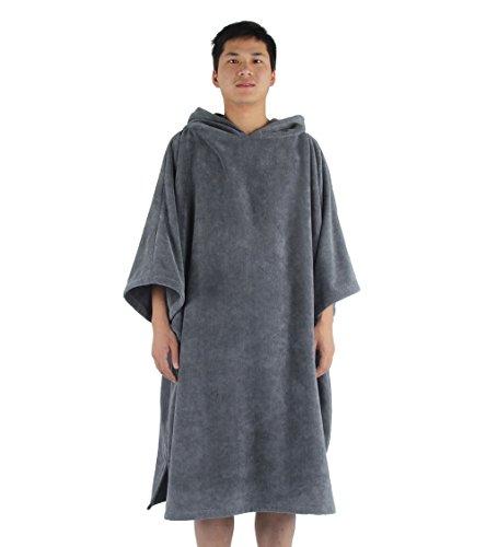 winthome cambiando toalla Poncho albornoz con capucha   talla única