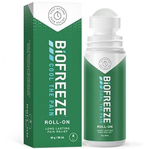 Pack Doble (2) Biofreeze Roll On 89ml (88,7 Ml) Nº Desastre Nº Residuos Alivio Del Dolor Gel