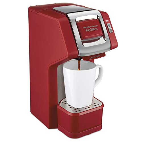 Find Cheap Hamilton Beach Single Serve Coffee Maker Compatible with K-Cup Pods or Grounds, Flexbrew ...