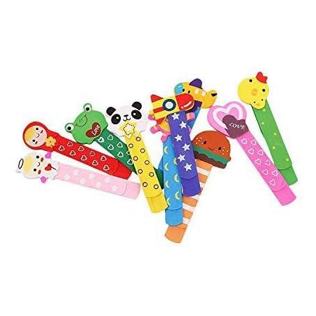 Owoda 3D Animali Segnalibro Coloratissimi Regalino Festa Compleanno Bambini per Bomboniera Battesimo Natale Cani Materiale PVC