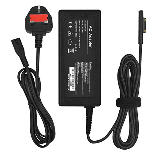 Surface Pro Charger,Jsvacva 44W 15V 2.58A Charger Adapter Power Supply Compatible with Microsoft Surface Pro 3 Pro 4 Pro 5 Pro 6 Surface Go Surface Laptop Charger Adapter.