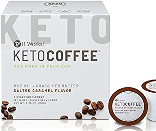 It Works! Keto Coffee Pods - Salted Caramel
