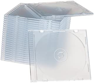Memorex 32021926 Clear Slim Jewel Cases - 25 Pack (Discontinued by Manufacturer)
