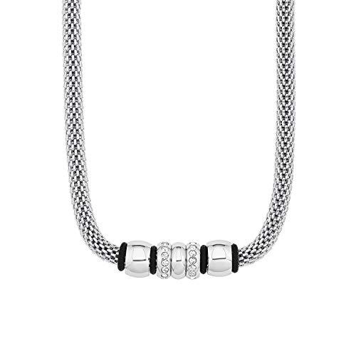 s.Oliver Halskette für Damen, aus Edelstahl