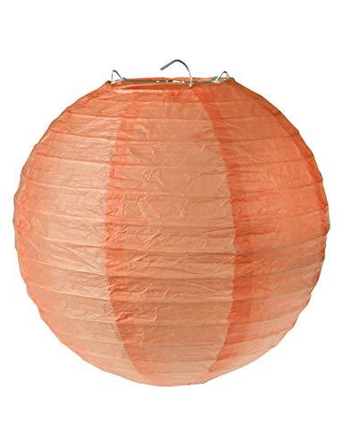 SANTEX 4312-22-20, Sachet de 2 lanternes M 20cm, Corail