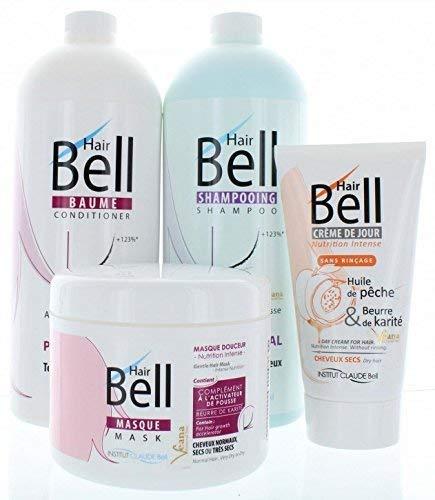 Hairbell Champú+Acondicionador+Máscara+Haircream pro como Hair Jazz / Pelo Plus