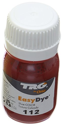 Trg Thoe One Easy Dye, Tinte para Zapatos para Hombre, Red 112, 20.00 ml