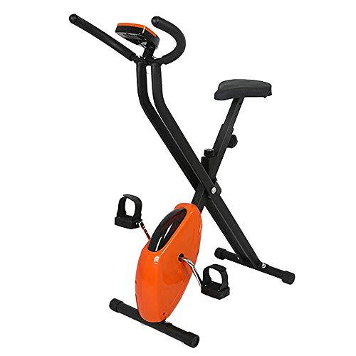 HZZ Bicicleta de ejercicio vertical, bicicleta de fitness, ejercicio aeróbico, bicicleta de interior, ideal para quemar grasa y mejorar tu condición física.