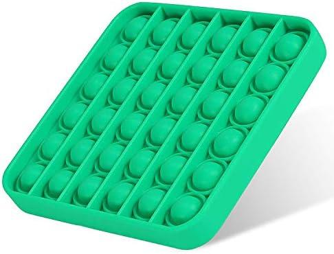 LAMIGA Push Pop Pop Bubble Sensory Fidget Toy Autism Special Needs Silicone Squeeze Sensory product image