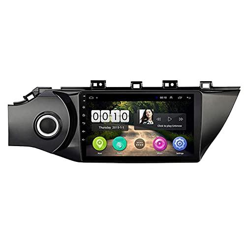 WY-CAR Navegación De Automóviles Estéreo De 9 Pulgadas Pantalla Táctil De 9 Pulgadas Player Multimedia para Kia Rio3 K2 2016-2018, FM/Bluetooth/SWC/Enlace De Espejo/Cámara De Vista Trasera