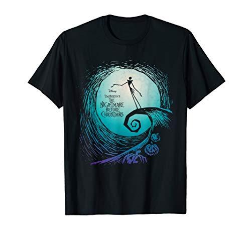Disney Nightmare Before Christmas Jack Movie Logo T-Shirt