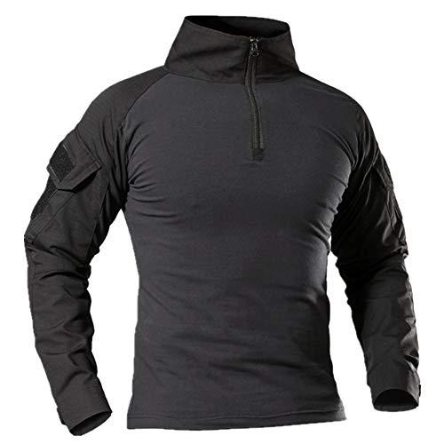 N\P Hombres al aire libre Camisetas camuflaje manga larga caza escalada camisa masculina transpirable ropa deportiva