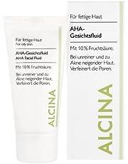 Alcina - Fluid AHA 10% do skóry tłustej i mieszanej AHA Fluid 10% - do skóry tłustej i mieszanej - 50 ml