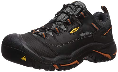 KEEN Utility Men's Braddock Low Steel Toe Work Shoe