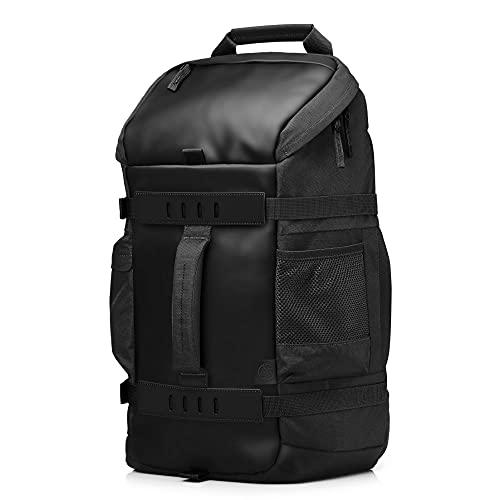 HP Odyssey Sport Rucksack (15,6 Zoll, Kabelführung, rückseitiges Laptopfach) grau/schwarz
