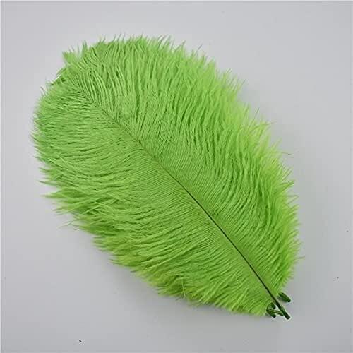 Pavo 10 unids /lote coloreado 15-20 cm avestruz de la pluma fiesta de fiesta decoración de la decoración de los plumas de las plumas de las plumas de la pluma del pavo real de la pluma de la pluma de