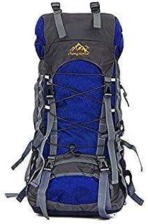 CloudRetail 1Pc 60L Large Capacity Unisex Climbing Backpacks (Blue)