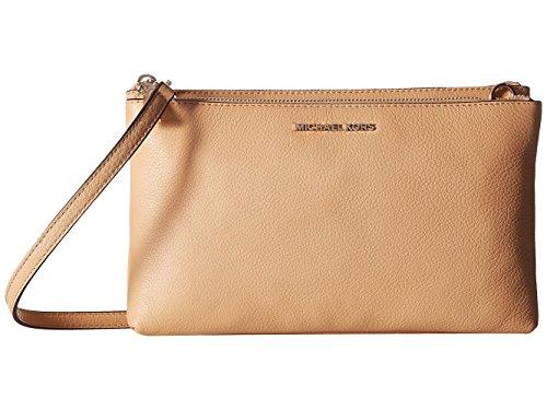 "100% Pebbled Leather 10.5""W X 6.5""H X 2""D Adjustable Strap: 21.75""-25.25"" Exterior Details: 2 Zip Compartments Interior Details: Back Zip Pocket, 6 Card Slots"