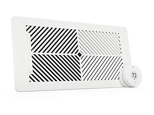 Flair Smart Vent, Smart Vent for Home Heating and Cooling. Compatible with Alexa, Works with ecobee, Honeywell Smart thermostats, and Google Assistant. Requires Flair Puck. (4