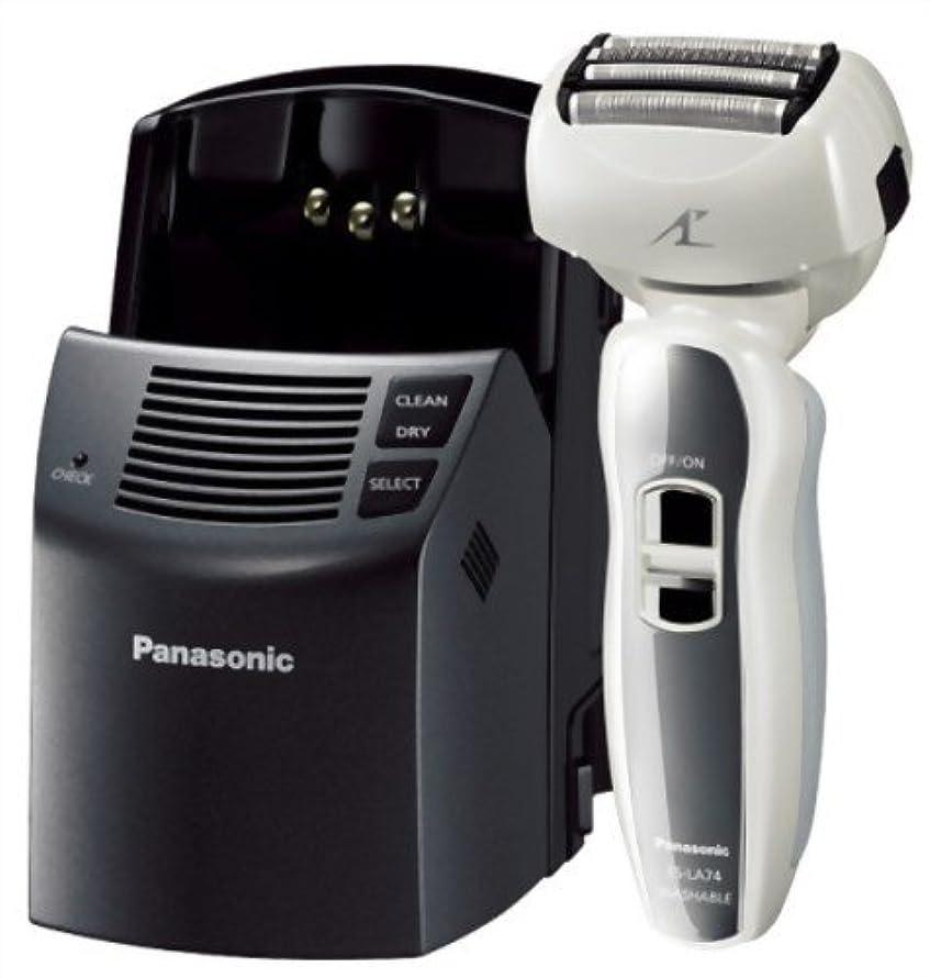 等価とんでもない国際Panasonic ラムダッシュ 白 ES-LA74-W