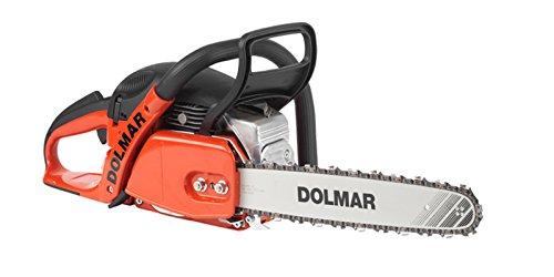 Dolmar PS4605-38325 PS-4605 Benzin-Kettensäge, Schwarz, Orange, Edelstahl