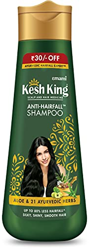 Kesh Rey anti-hairfall Aloe Vera Champú 120ml