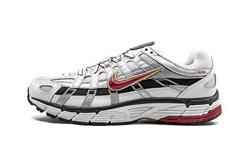 Nike W P-6000, Zapatillas para Correr Mujer, White Varsity Red Mtlc Platinum, 45.5 EU