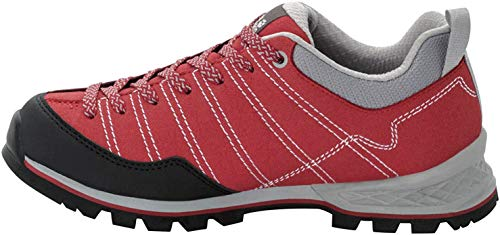 Jack Wolfskin Damen Scrambler Low W 4036671 Walking-Schuh, Rot Red Light Grey 2106, 40 EU