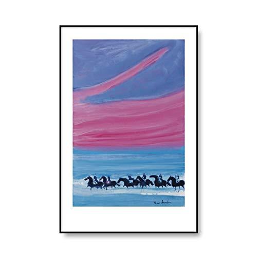 Carteles de pintura al óleo de Andre Brasilier y paredes de lienzo impresas debajo de las ramas Pinturas de lienzo sin marco en el hogar A3 70x100cm