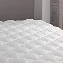 eLuxurySupply RV Mattress Topper RV King - Extra Plush Pad with Fitted Skirt - Found in Marriott Hotels - Mattress Cover for RV, Camper