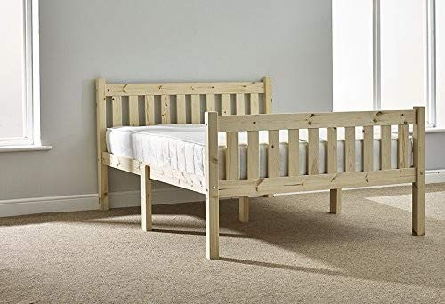 Strictly Beds and Bunks - Athens Pine Shaker Style Bed Frame, 5ft Kingsize