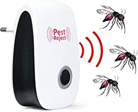 Mosquito Killer Electronic Ultrasonic Repels Rat Mouse Ant Roaches Spider Reject Insects Control Non-toxic Pest Repeller DC112