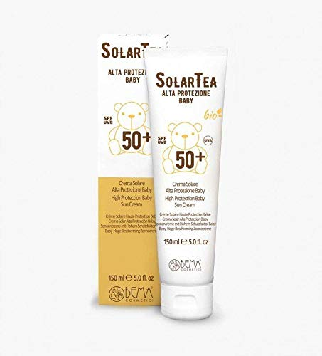 SolarTea Crema Solare Bio Alta Protezione Baby SPF 50 150ml - Bema