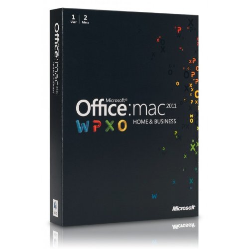 Microsoft Office for Mac, Home and Business 2011 Two Pack (2 User) (Mac)