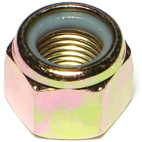 Hard-to-Find Fastener 014973473778 Grade 8 Fine Lock Nuts, 1/2-20, Piece-25