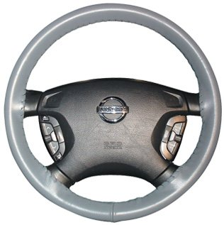 Universal Size AXX Wheelskins Original One Color Genuine Leather Steering Wheel Covers Color:Oak