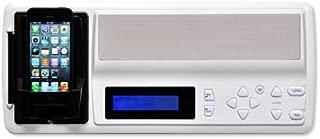 Intrasonic Technology IST Retro Music & Intercom Master Station, White (Retro-M)