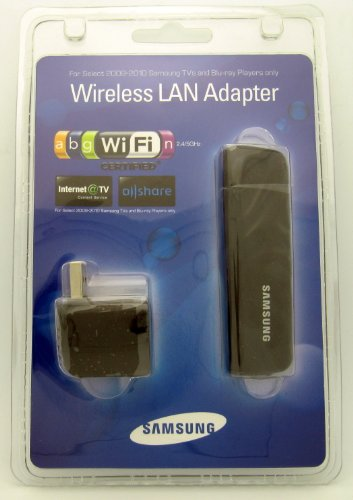Samsung WIS09ABGN Wireless LINKSTICK WIS09ABGN2 USB LAN adaptador para 2009-2010 & amp; 2011 reproductores de BLU-RAY, televisores 2010 2011