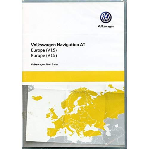 5G0919866AK Kartendaten SD Karte Europa V15 Navi Update Navigationssystem Discover Media (nur System AT, Generation 1, nur PR-Code 7RE)