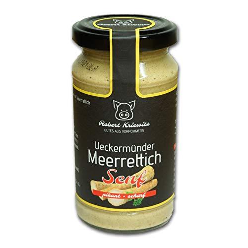 Ueckermünder Meerrettich Senf - Fleischerei Robert Kriewitz | 200ml