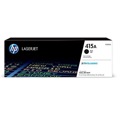 HP 415A - Cartucho de tóner para impresoras láser, color negro