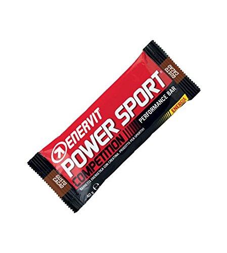 Enervit Power Sport Competition Confezione da 24 Barrette Gusto Cacao