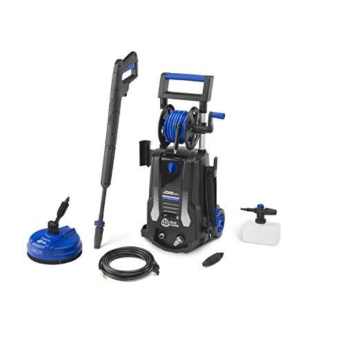 AR Blue Clean e-2000 HRD Hidrolimpiadora de Alta Presión, Negro y Azul