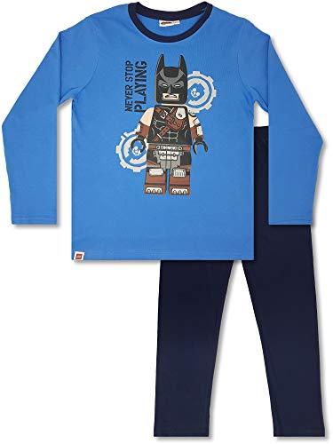 LEGO Wear - 2-TLG. Jungen Schlafanzug lang, Kinder-Langarm-Pyjama (122/128 (Herstellergröße: 6-7 Jahre))