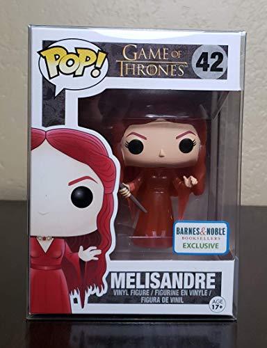 FunKo- Pop Game of Thrones 42 - 024753 - Figura de Melisandre de Juego de Tronos de Vinilo Transparente